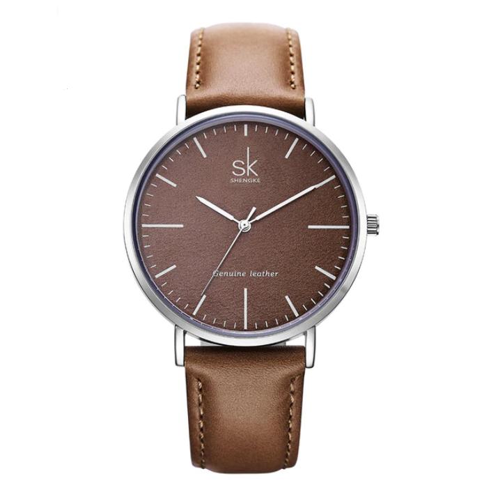 Image of Brązowy zegarek damski SK